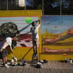 Five street artists add colour to the city of Athens