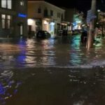 Bad weather causing problems in Kefalonia and Corfu