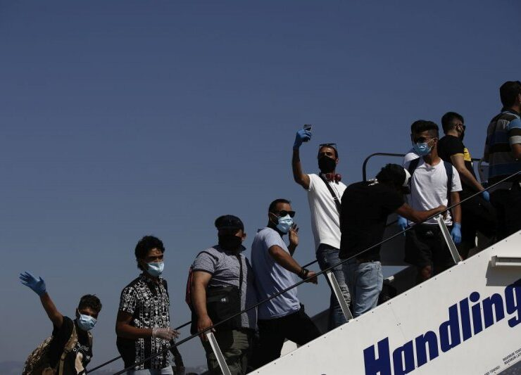 104 illegal immigrants relocated to Hannover, Germany
