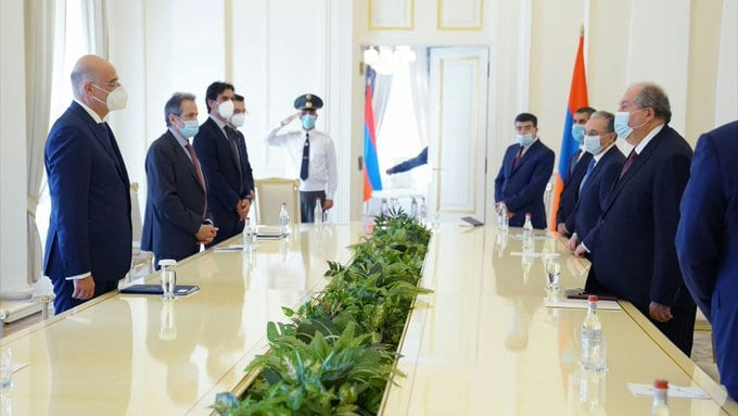 Dendias in Armenia: Turkey is the source of tensions everywhere in the region 2