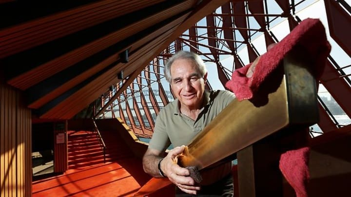 Steve Tsoukalas' enduring love for the iconic Sydney Opera House