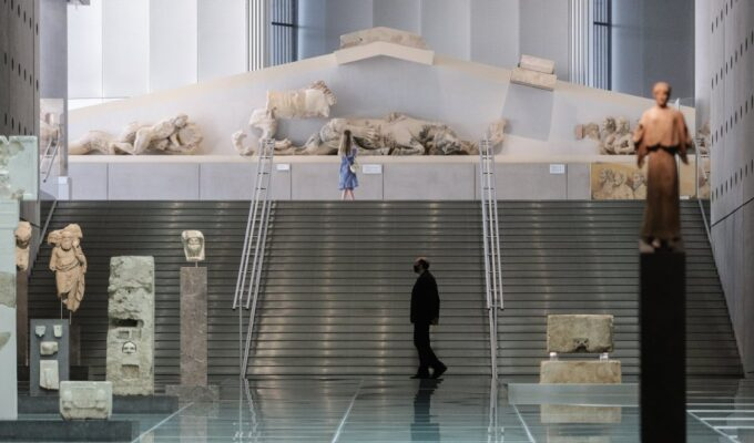 Museum attendance in Greece plummets