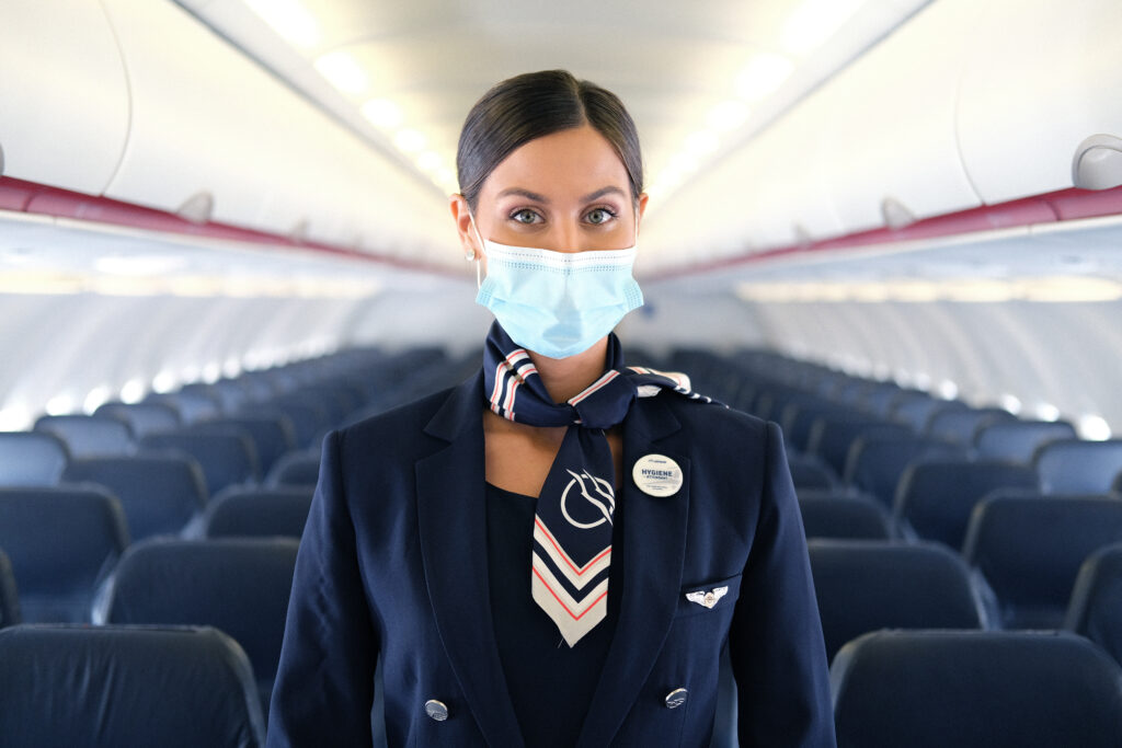 Aegean Airlines introduces 'Hygiene Attendant'