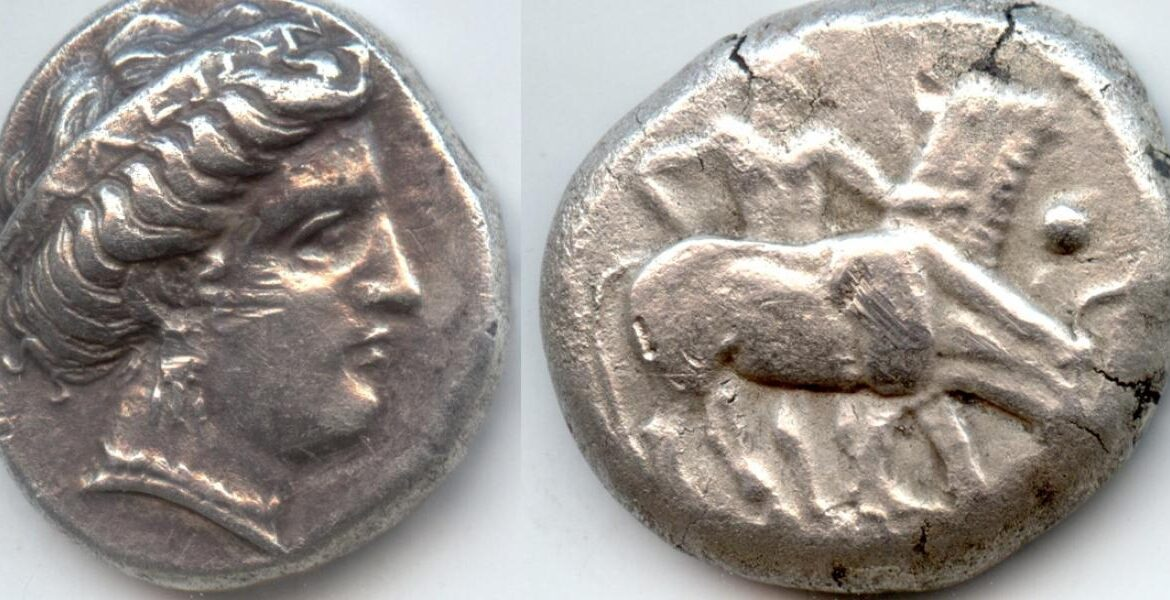 Five rare ancient silver coins returned to Greece