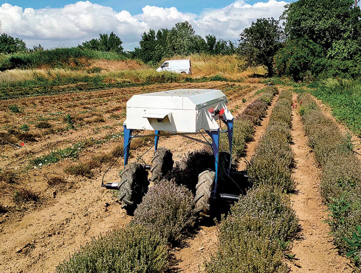 Robot farmer shaping the future of agriculture in Greece