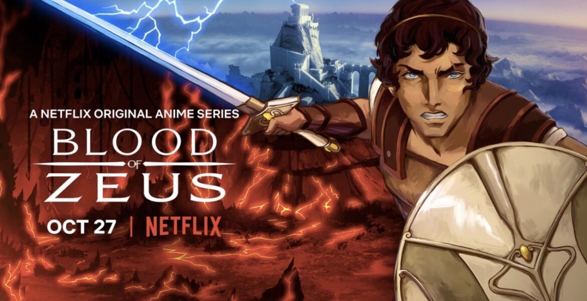 """Coming to Netflix in October- Greek Mythology Anime Series """"Blood of Zeus"""""""