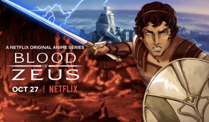 "Coming to Netflix in October- Greek Mythology Anime Series ""Blood of Zeus"""