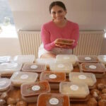 Formerly homeless Greek-Iranian woman, now gives back