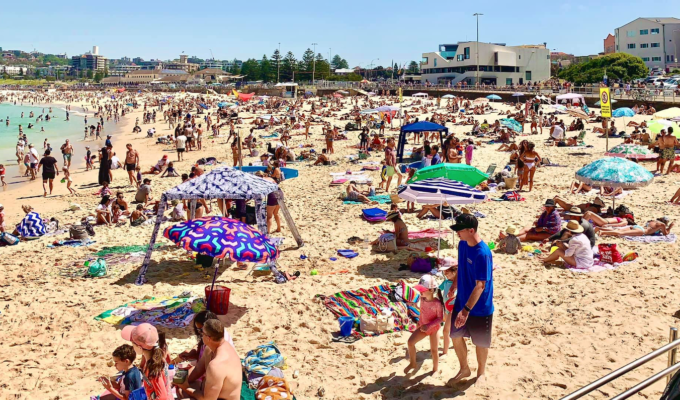 Plans to bring Greek-style beach club to Bondi, Australia's most famous beach