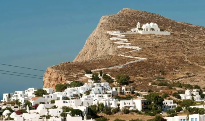 Greece dominates Condé Nast Traveler's rankings of Europe's best islands