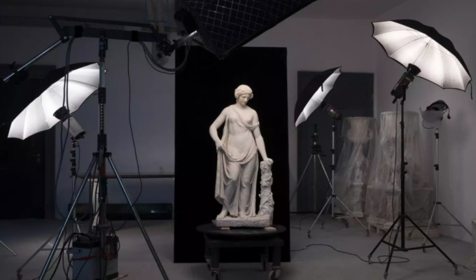 Torlonia Collection of Ancient Greek and Roman Marbles on display in Rome