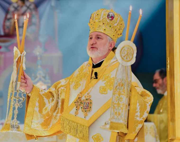 A message from His Eminence Archbishop Elpidophoros on the Feast of St. Luke