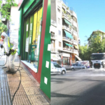 Street cleaning operation in Neos Kosmos, Athens