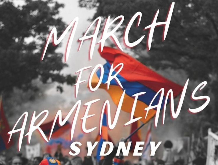 """March For Armenians"" to take place in Sydney, Australia on Saturday 24th October"