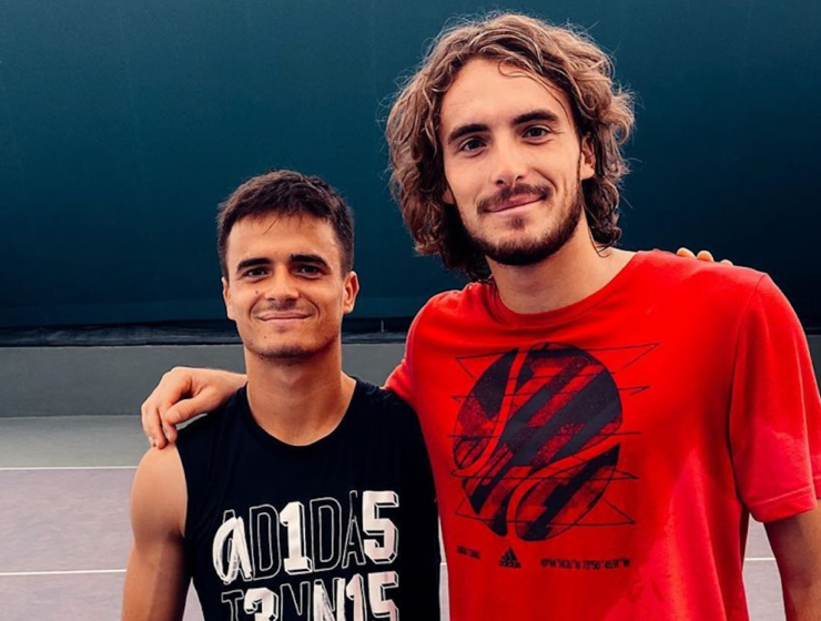 Stefanos Tsitsipas reminisces about his childhood memories