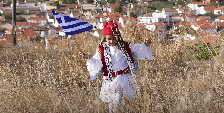 Students in Serres get creative to commemorate OXI Day