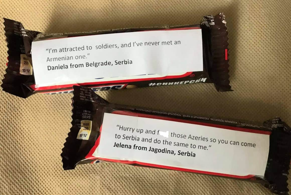 Why are Greeks sending Snickers with messages attached to Armenian soldiers on the front lines? (PHOTOS) 15