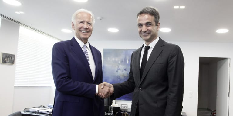 Greek PM thanks Joe Biden for his support over Hagia Sophia