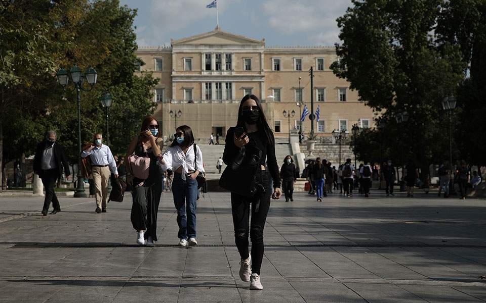 COVID Greece Daily covid-19 cases hits four digits in Greece