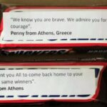 Why are Greeks sending Snickers with messages attached to Armenian soldiers on the front lines? (PHOTOS) 40