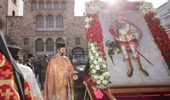 Commemorating Thessaloniki's Liberation and Patron Saint, Agios Dimitrios