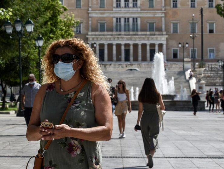 Athens Greece makes face masks mandatory after surge in cases