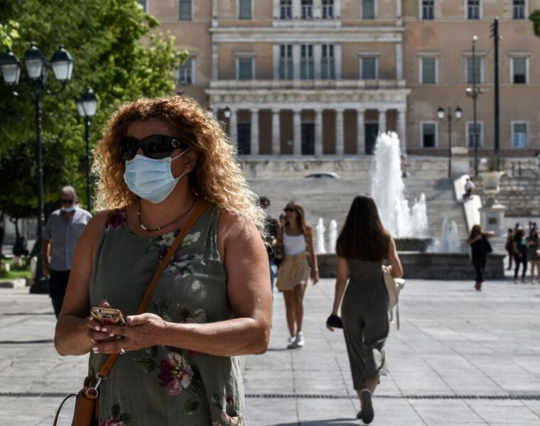 Greece makes face masks mandatory after surge in cases
