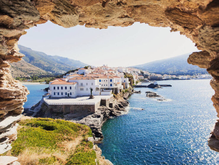Sunday Times- Andros at the top of '25 spectacular Greek island breaks'