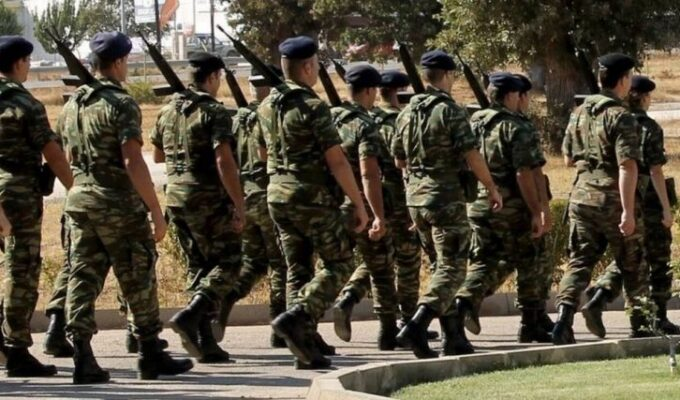 Greece increases mandatory military service from 9 to 12 months