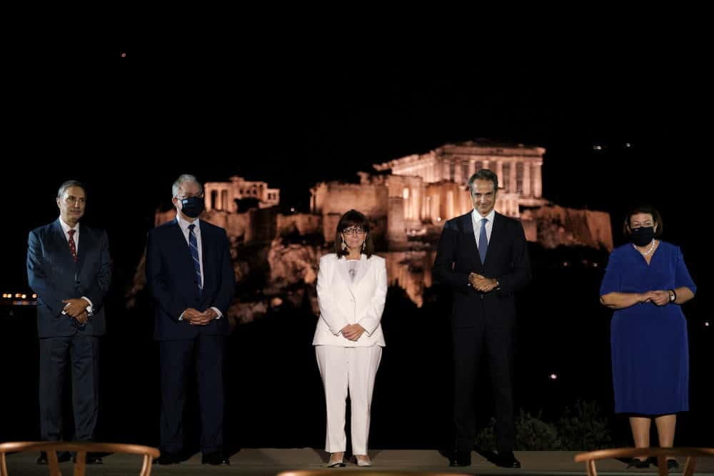 The Acropolis is a symbol of democracy, an eternal compass