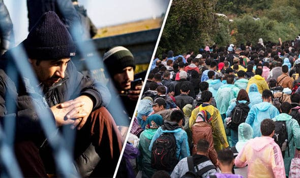 criminals smuggled illegal immigrants into Greece.