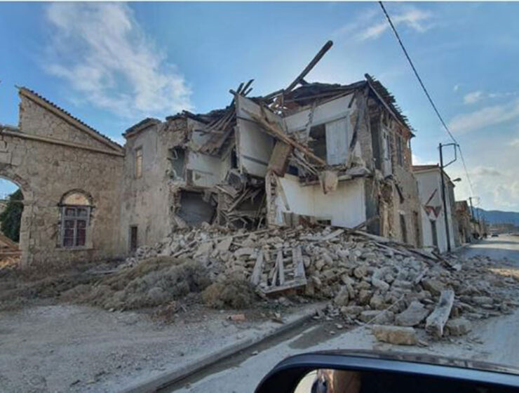 """Endless nightmare for Samos: """"There are still homeless people from the earthquake, some live in tents"""" 1"""