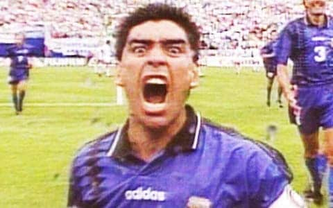 Maradona's last goal for Argentina was against Greece (VIDEO) 1