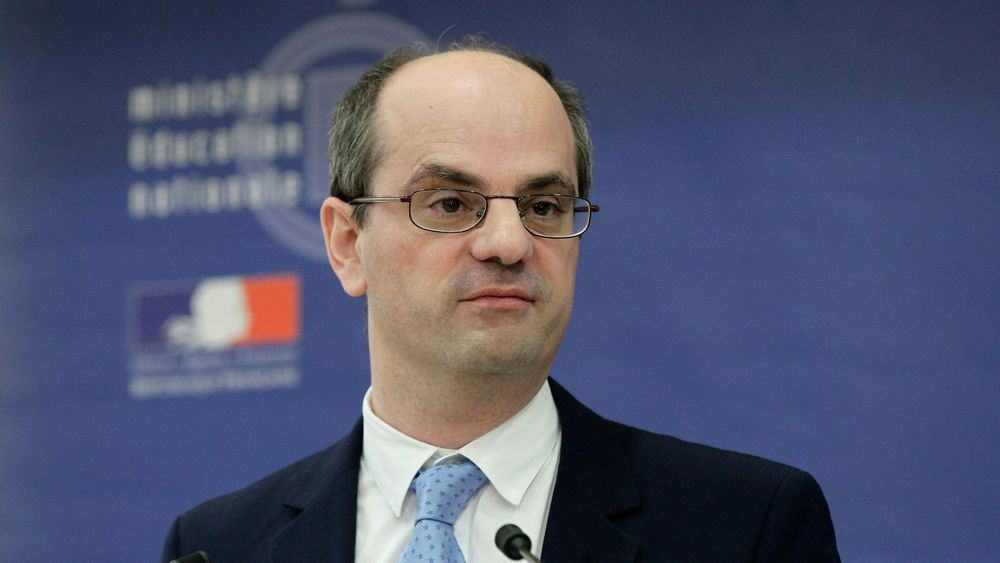 French Education Minister France Jean-Michel Blanquer.