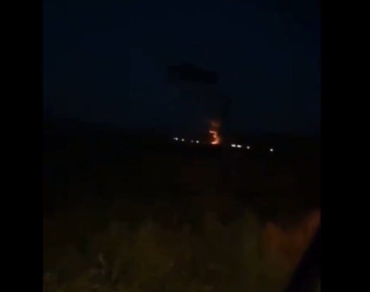 Russian helicopter crash in Armenia.