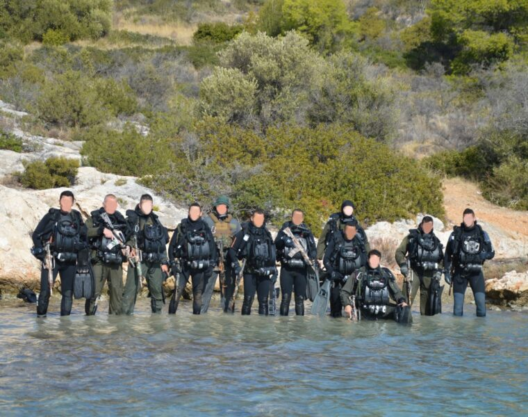 Greek-Egyptian special forces joint training in Nea Peramo. (November 9-13, 2020)