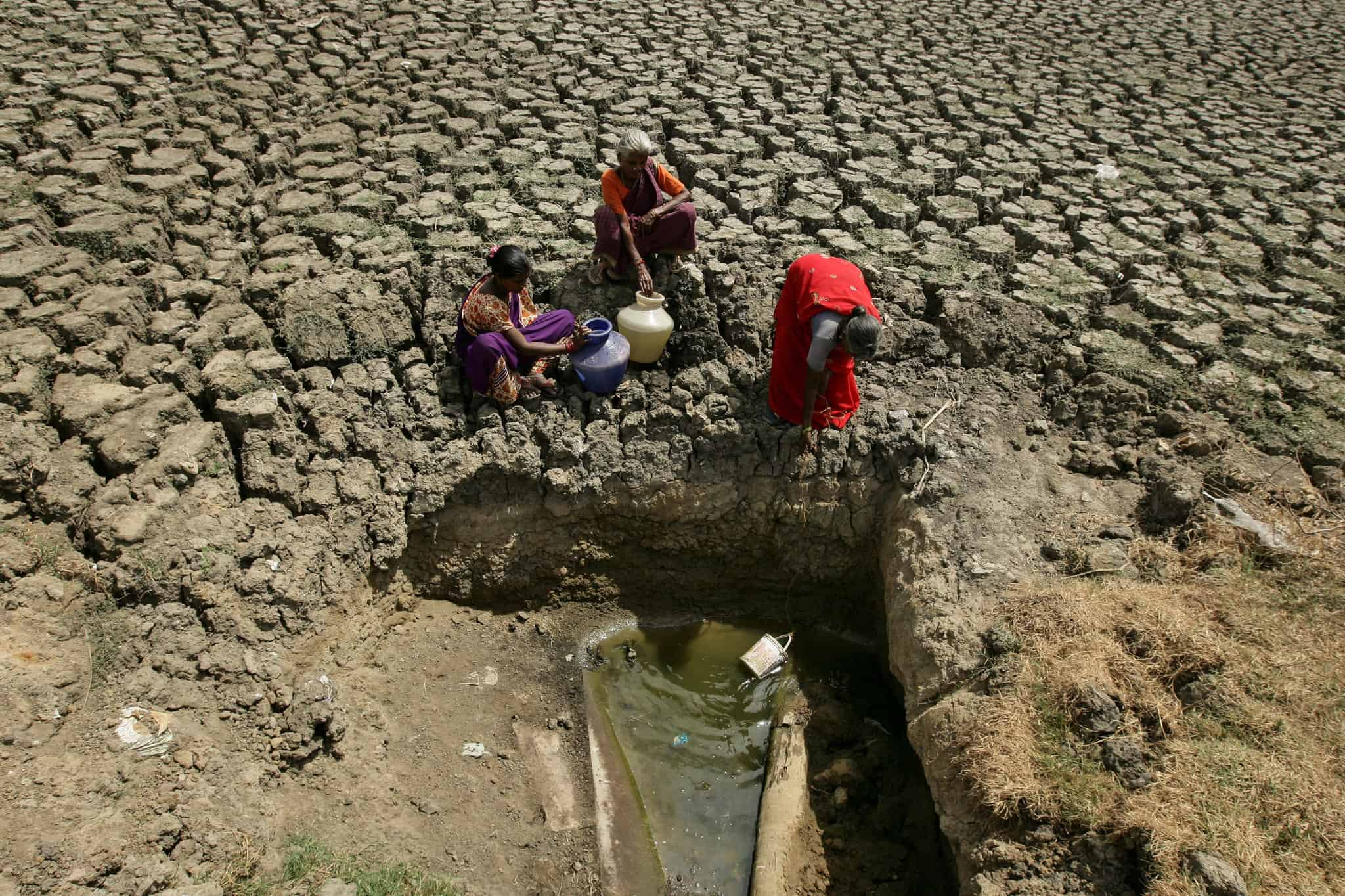 Chinese The May-June India-Pakistan heatwave saw temperatures reach as high as 50.8 °C.