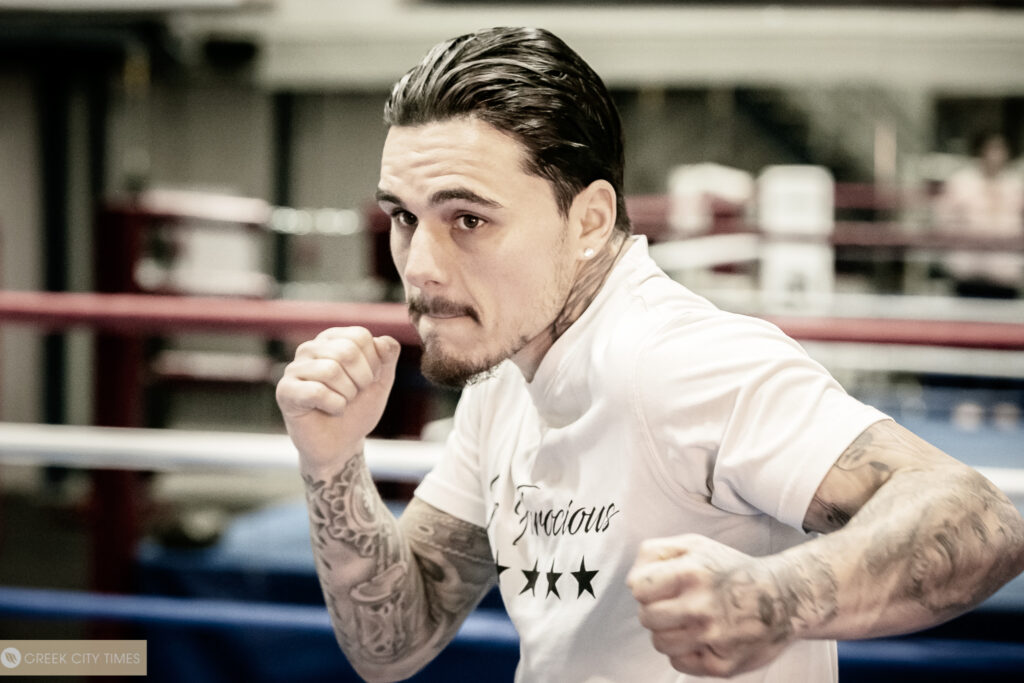 """""""I'm one fight, one win away from achieving my goal"""" - George 'Ferocious' Kambosos Jr"""