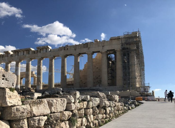 Making the Acropolis accessible