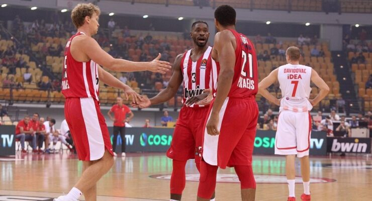 Fifth Olympiacos basketball player with COVID-19 9