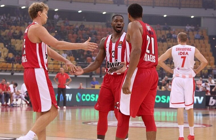 Fifth Olympiacos basketball player with COVID-19 1