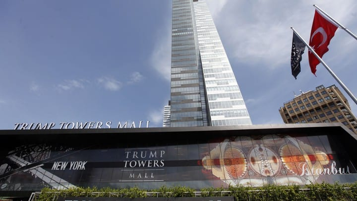 Trump Towers in Constantinople. Biden