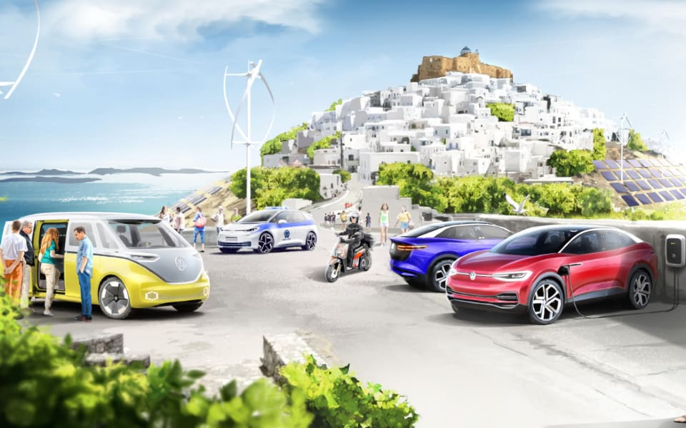 Volkswagen group to electrify Astypalaia
