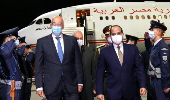 Greek Foreign Minister welcomes Egyptian President
