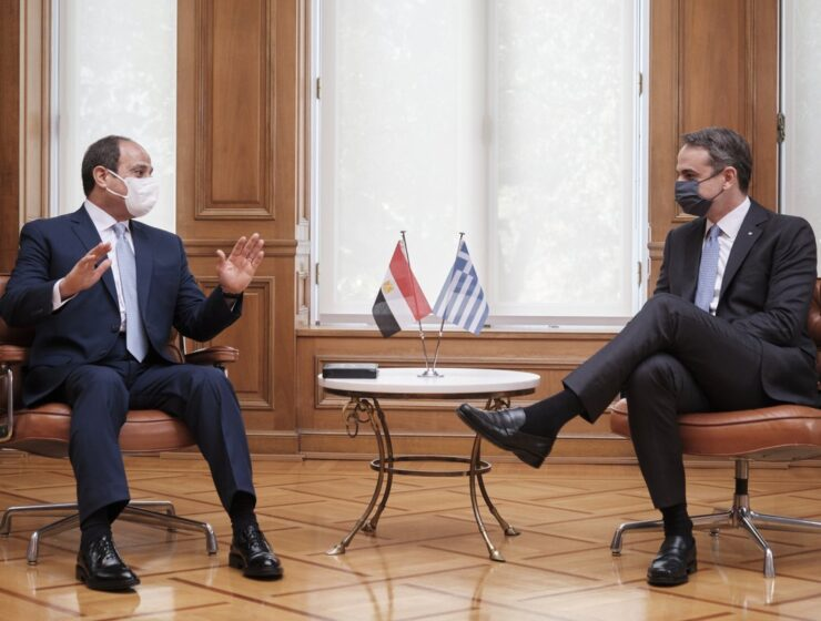 "Greek PM: ""Greece and Egypt are partners with mutual export relations and common strategic goals"""