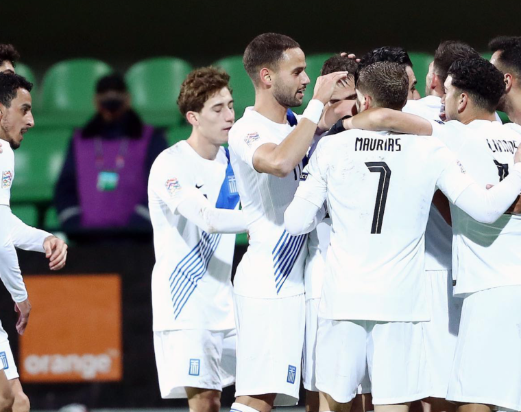 Nations League Match: Greece beats Moldova