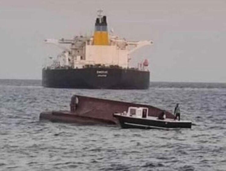 Four dead after Turkish fishing boat collides with Greek cargo ship