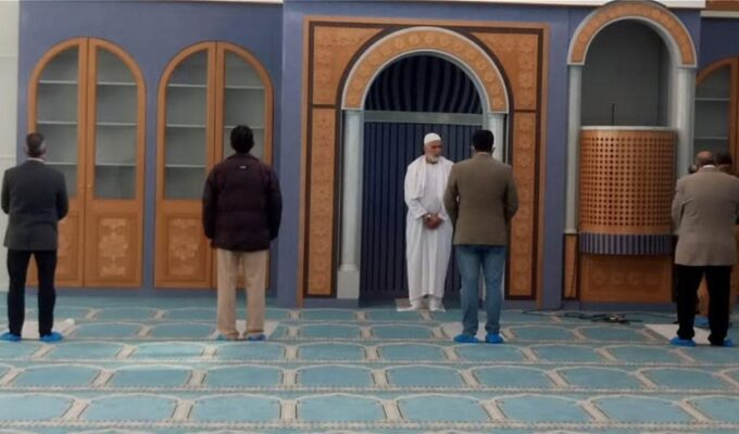 Mosque in Athens holds first Muslim prayers