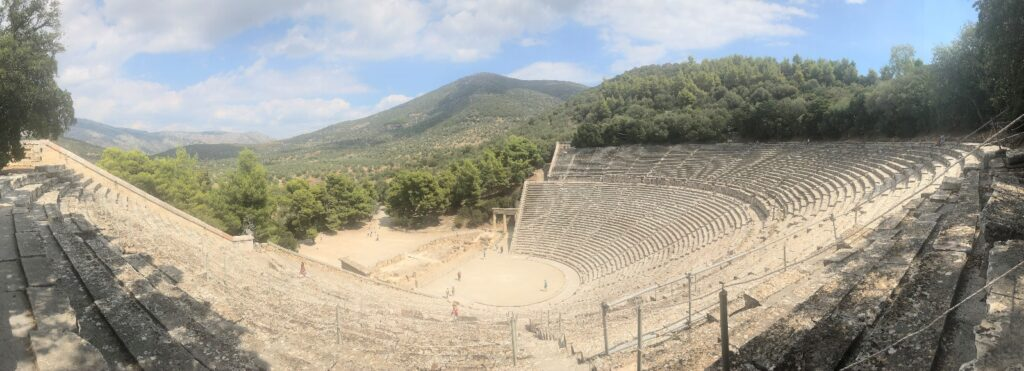 Study shows Ancient Theatre of Epidaurus is world's most perfect in terms of aesthetics and acoustics 3