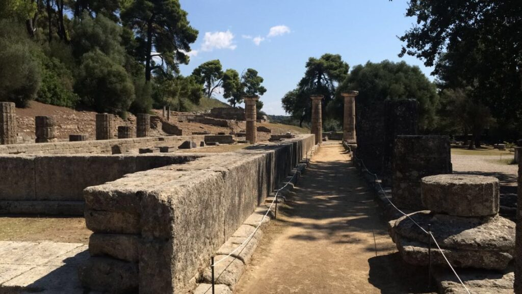 virtual tour Ancient Olympia